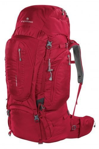 TRANSALP 80 BACKPACK burgundy