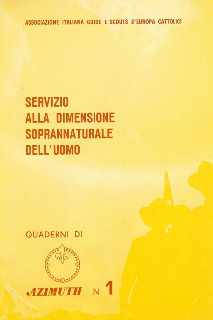 SERVIZIO ALLA DIMENSIONE SOPRANNATURALE DELL'UOMO