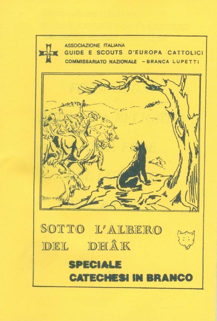 SPECIALE CATECHESI IN BRANCO - SOTTO L'ALBERO DEL DHAK