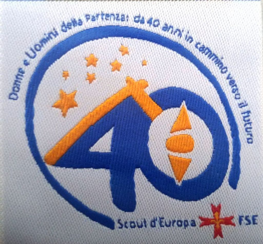 DISTINTIVO 40 FONDAZIONE ASSOCIAZIONE
