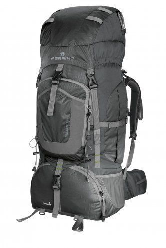 OVERLAND BACKPACK LT. 80 + 10 black