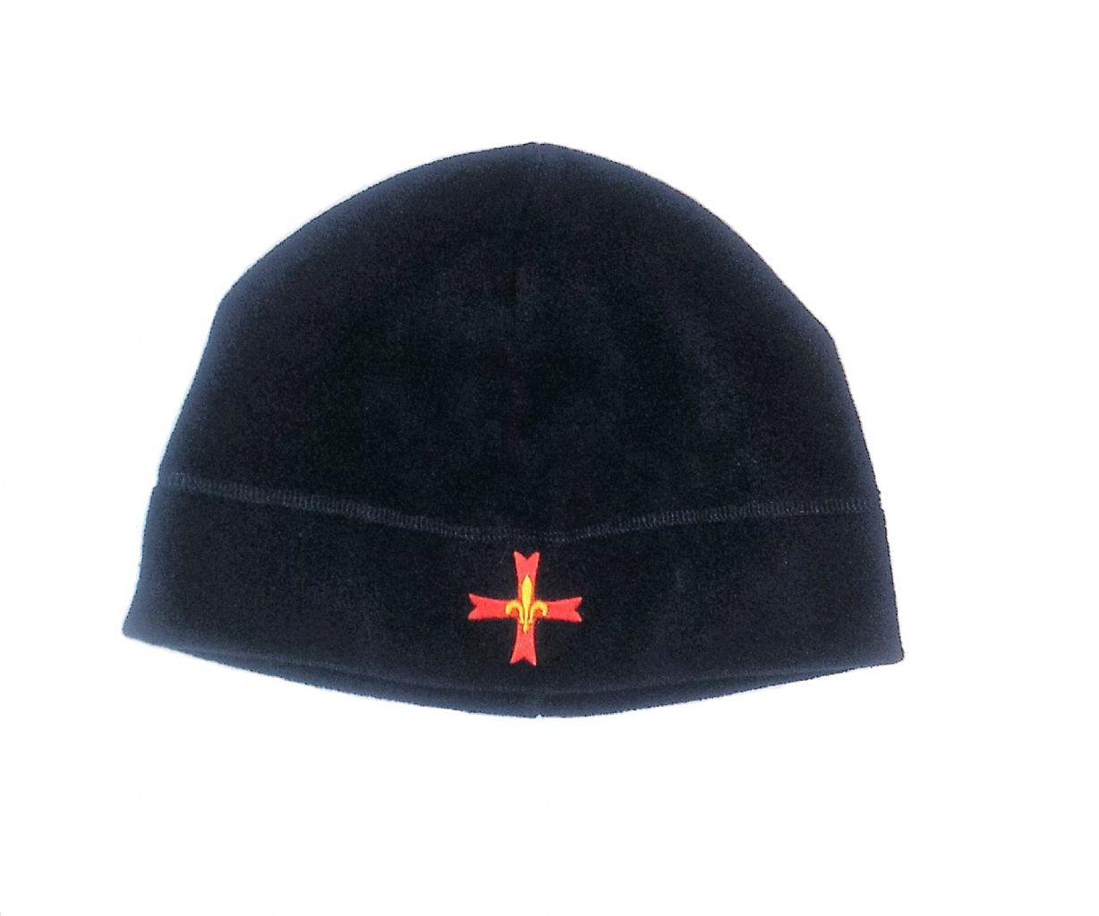FLEECE CAP WITH LOGO