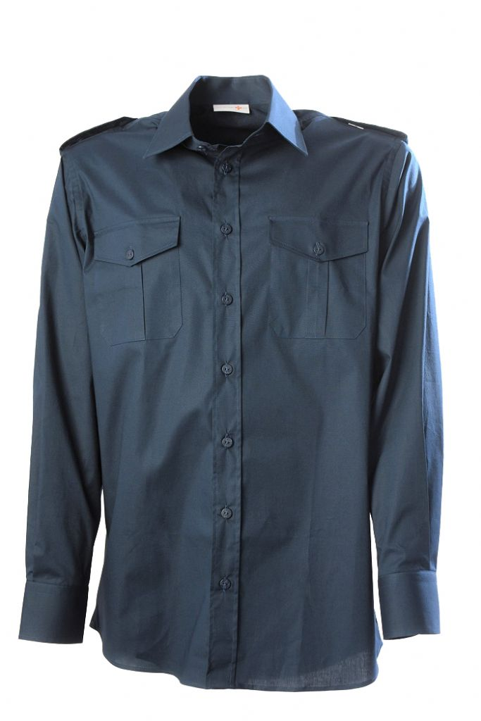 BLUE NAUTICAL SCOUT SHIRT