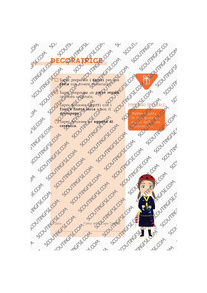 CARD SPE. COC. ARA. DECORATRICE