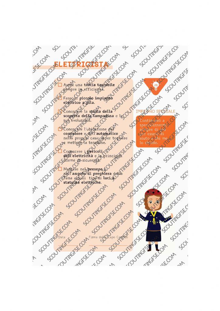 CARD SPE. COC. ARA. ELETTRICISTA