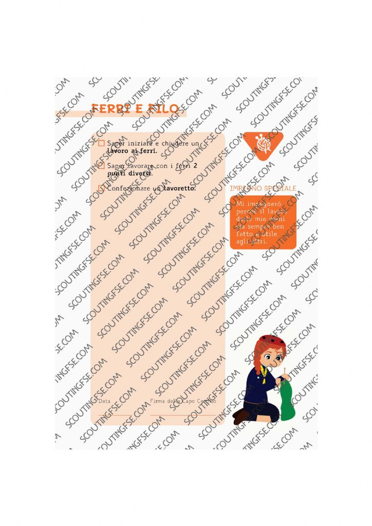 CARD SPE. COC. ARA. FERRI E FILO