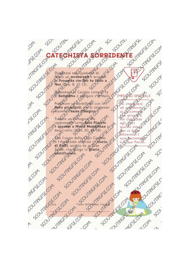 CARD SPE. COC. BIA. CATECHISTA SORRIDENTE