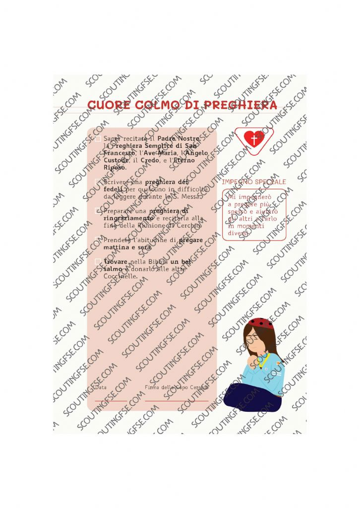 CARD SPE. COC. BIA. CUORE COLMO DI PREGHIERA