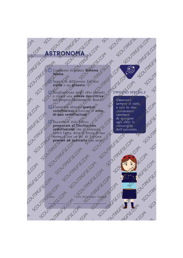 CARD SPE. COC. BLU. ASTRONOMA