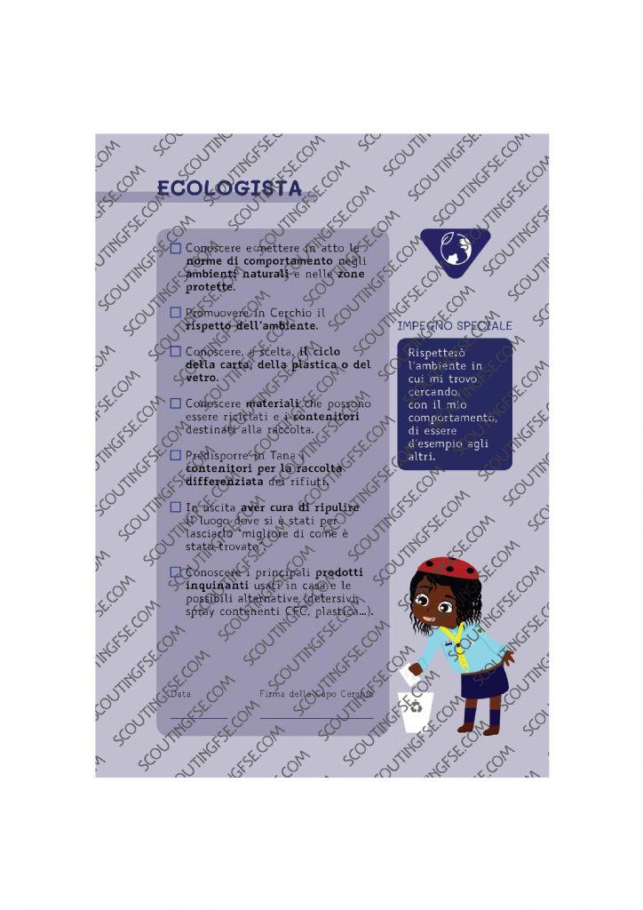 CARD SPE. COC. BLU. ECOLOGISTA