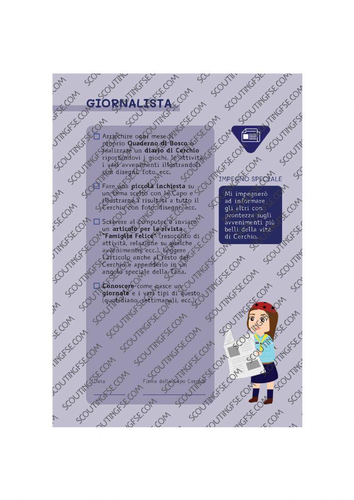 CARD SPE. COC. BLU. GIORNALISTA