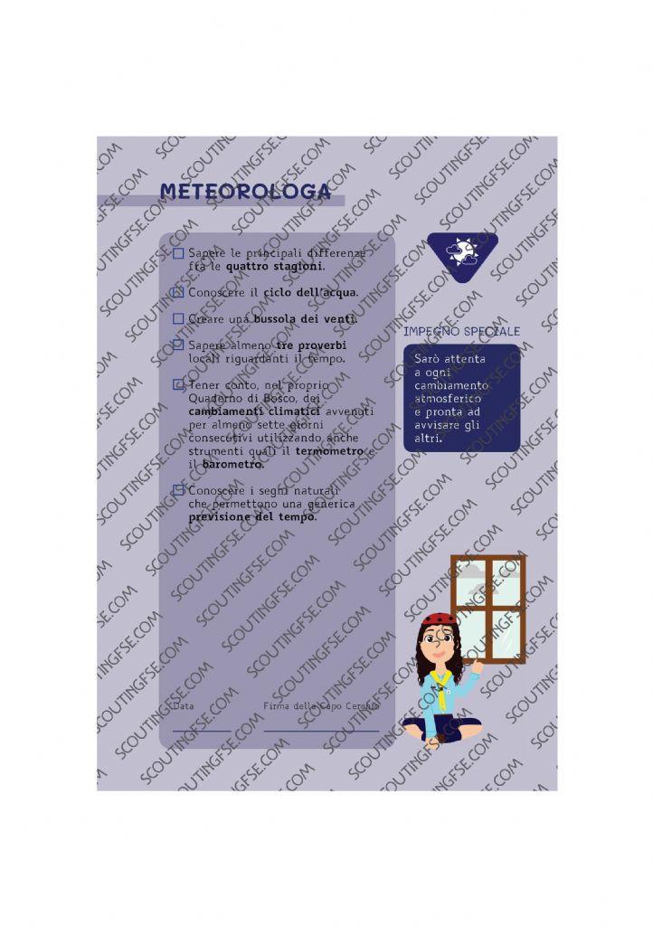 CARD SPE. COC. BLU. METEOROLOGA