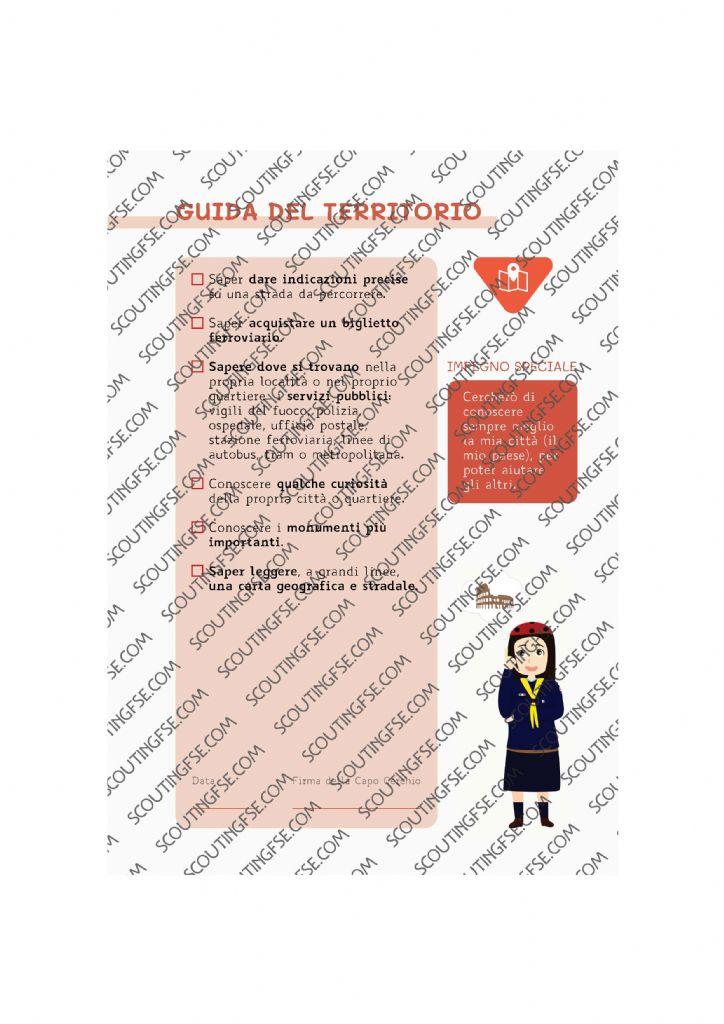 CARD SPE. COC. ROS. GUIDA DEL TERRITORIO